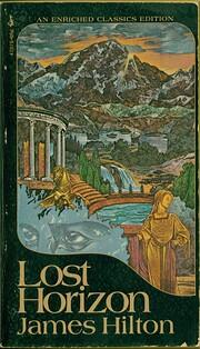 Lost Horizon por James Hilton