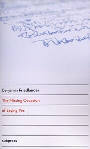 The Missing Occasion of Saying Yes by…