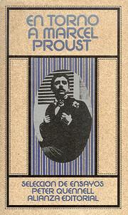 En Torno a Marcel Proust de Peter Quennell