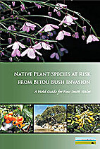 Native plant species at risk from bitou bush…