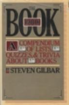 The Book Book by Steven Gilbar