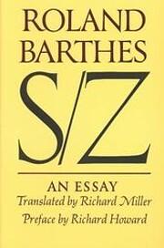 S/Z af Roland Barthes