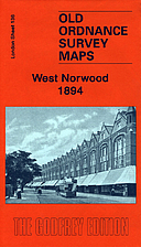 OS Godfrey Edition - West Norwood 1894 -…