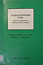 Anglican-Methodist unity : some…