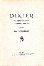 Dikter av äldre och nyare germanska skalder…