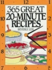 365 Great 20-Minute Recipes by Beverly Cox