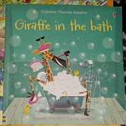 Giraffe in the Bath (Phonics Readers) ages 4…