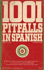 1001 pitfalls in Spanish – tekijä: Marion…