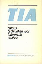 TIA - cursus technieken voor informatica…