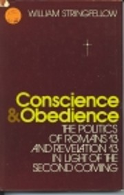 Conscience and Obedience: The Politics of…