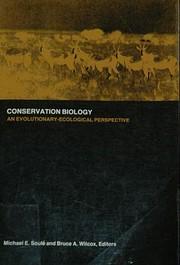 Conservation biology : an…