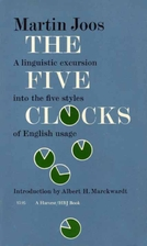 The Five Clocks (International Journal of…
