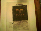 Marks in Books, Illustrated and Explained by…