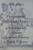 Companions Without Vows: Relationships Among…