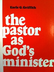 The pastor as God's minister – tekijä:…