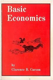 Basic Economics de Clarence B. Carson