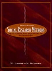 Social research methods : qualitative and…