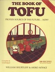 Book of Tofu Food for Mankind par William…