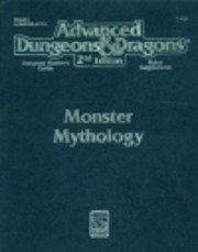 Monster Mythology (Advanced Dungeons &…