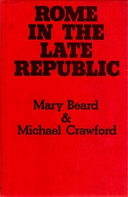Rome in the Late Republic af Mary Beard