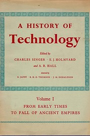 A History of Technology (5 Volumes) by…