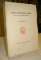 Valda ortnamnsstudier : (Opuscula toponymica…