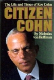 Citizen Cohn af Nicholas Von Hoffman