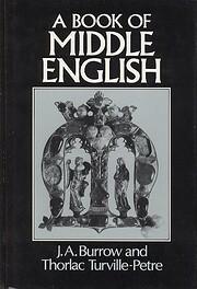 Book of Middle English – tekijä: J. A.…