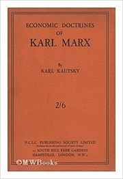 The economic doctrines of Karl Marx –…