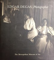 Edgar Degas photographer