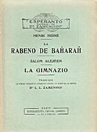 Rabeno de Baĥaraĥ / La Gimnazio by Shalom…