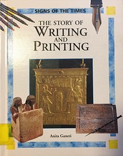 The Story of Writing and Printing (Signs of…