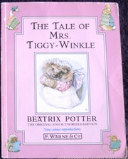The Tale of Mrs. Tiggy-Winkle by Beatrix…