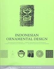 Indonesian Ornamental Design (Design Book)…