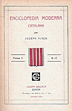 Enciclopedia moderna catalana by Josep Fiter…