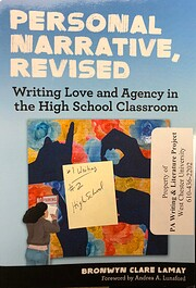 Personal Narrative, Revised: Writing Love…