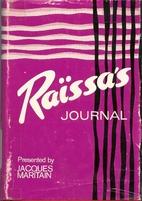 Raissa's Journal by Raissa Maritain