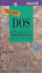 DOS: The Pocket Reference [Osborne] av Kris…