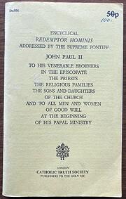 Redemptor Hominis por Pope John Paul II
