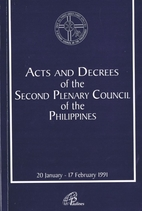Acts and decrees of the Second Plenary…