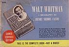 Walt Whitman, an American; a study in…