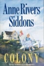 Colony av Anne Rivers Siddons