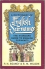 A Dictionary of English Surnames - P. H. Reaney