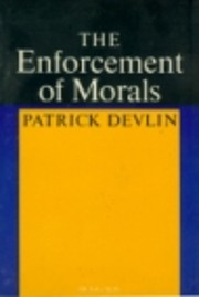 The Enforcement of Morals (Oxford…