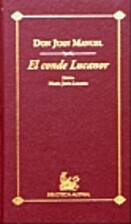 El Conde Lucanor by Don Juan Manuel