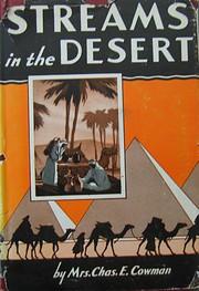 Streams in the Desert – tekijä: Mrs.…