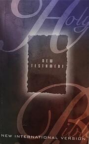 New Testament: New International Version de…