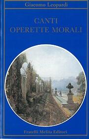 Canti: Operette morali – tekijä: Giacomo…