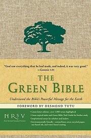 The Green Bible de Zondervan