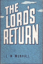 The Lord's return by Leander Whitcomb…